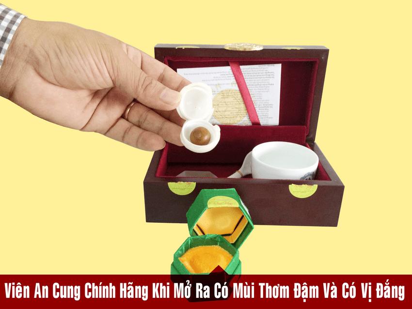 Công ty phân phối An cung rùa vàng tại Miền Nam hình thật