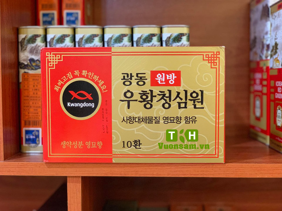 Viên Chống Đột Quỵ Hộp Vàng Của Hàn Quốc